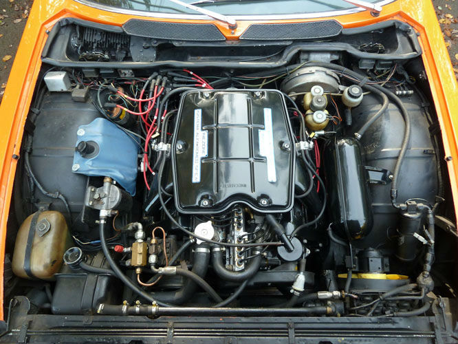 1973 Alfa Romeo Montreal Engine Bay