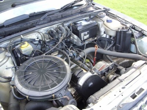 1991 classic audi 80 b3 1.8 se manual engine bay