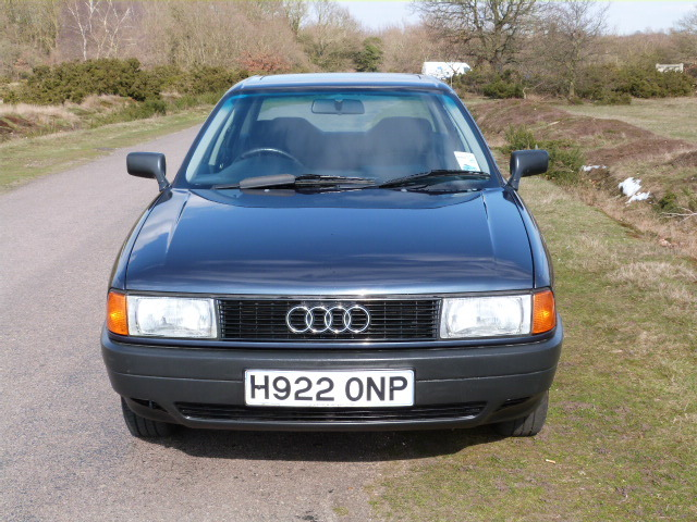 1990 Audi 80 1.8 S Automatic Front