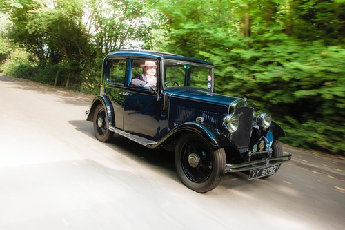 1934 Austin 10 4 On The Road