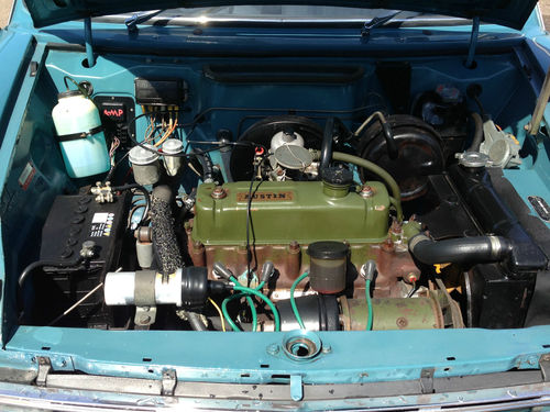 1970 Austin 1800 Land Crab Engine Bay