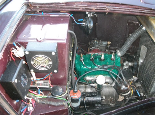 1935 austin ruby seven engine bay 1
