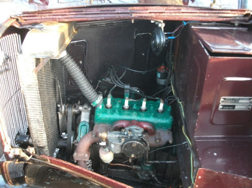 1935 austin ruby seven engine bay 2