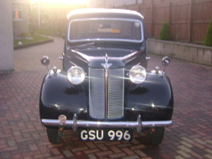austin eight 1939 classic car front