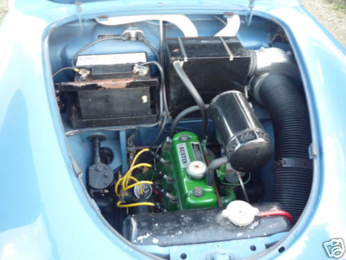 1954 austin a30 seven 803cc engine bay