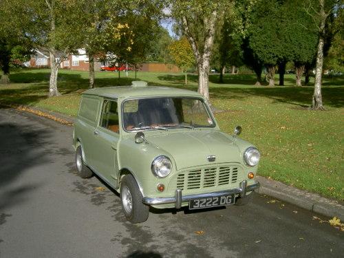 68b5f031c5 Featured Cars - Austin - Mini - 1963 Austin Mini Van (ref 270)