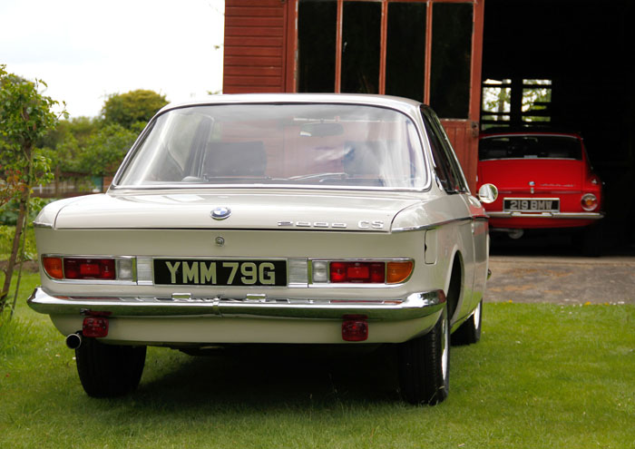 1968 BMW 2000CS Coupe Back