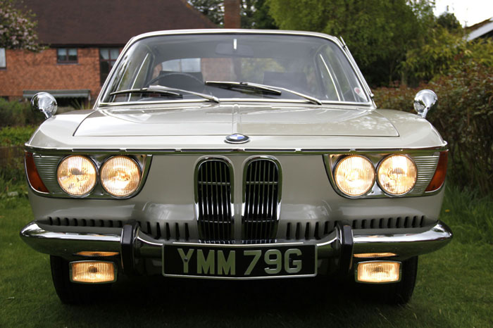 1968 BMW 2000CS Coupe Front