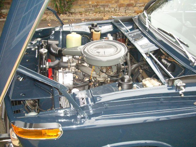 1972 bmw 2002 auto saloon national concourse winner engine bay 2