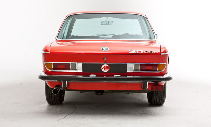 1973 bmw 3.0 csl verona red back