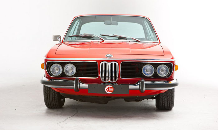 1973 bmw 3.0 csl verona red front