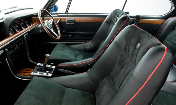 1973 bmw 3.0 csl verona red interior 1