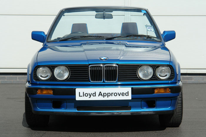 1992 BMW E30 318i Design Edition Convertible Front