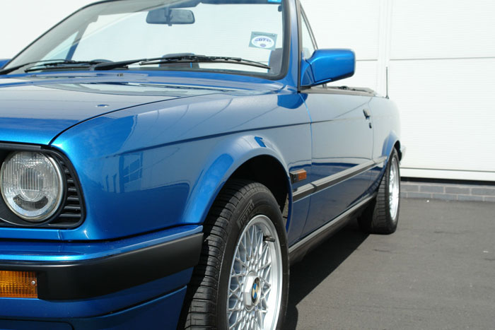 1992 BMW E30 318i Design Edition Convertible Left Side