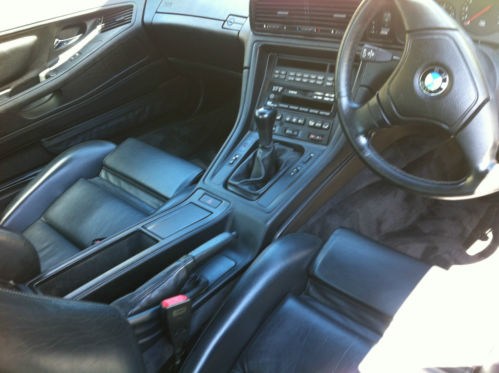 1996 BMW E31 M850 V12 CSi Interior 2