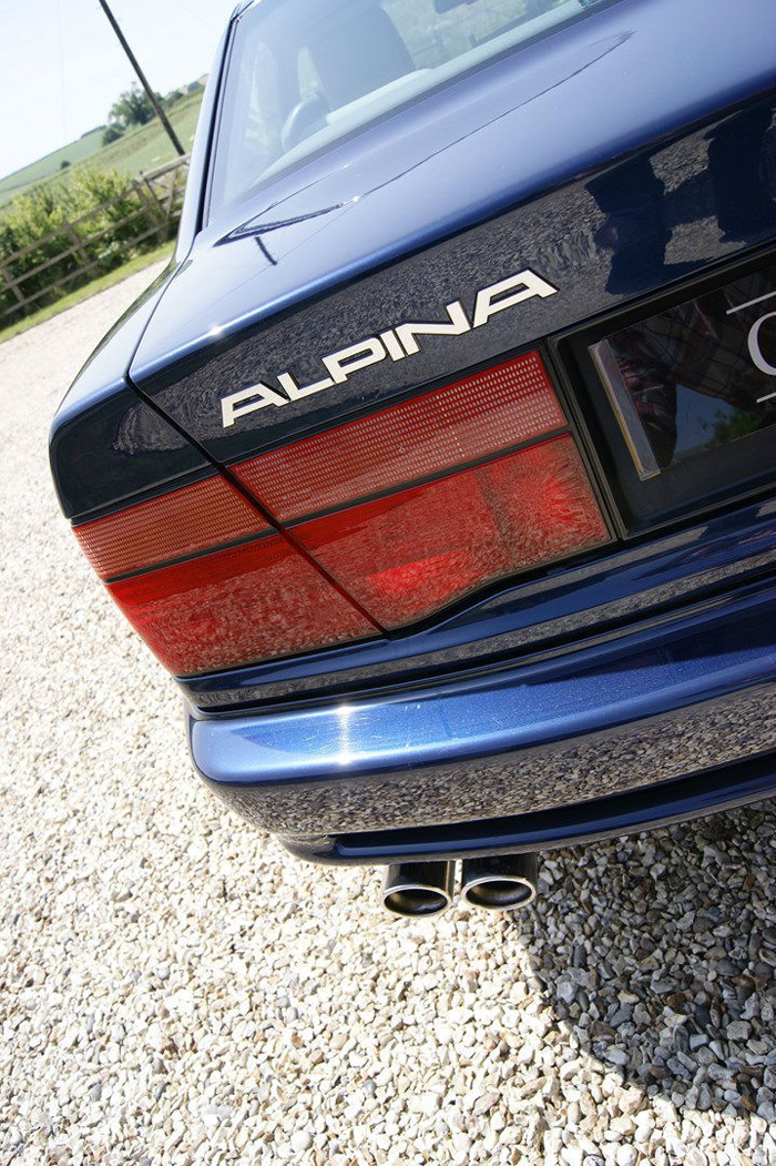 1991 BMW E31 850 Alpina B12 Coupe Badge