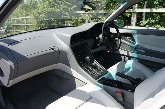 1991 BMW E31 850 Alpina B12 Coupe Front Interior