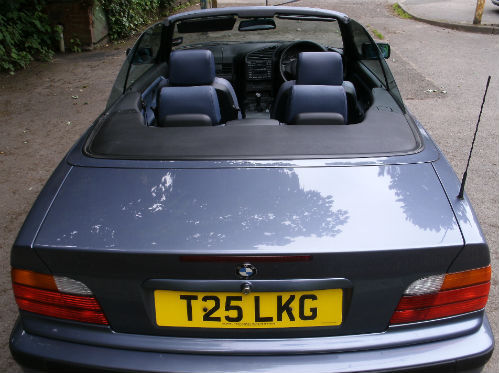 1999 bmw 318 1.8i convertible back