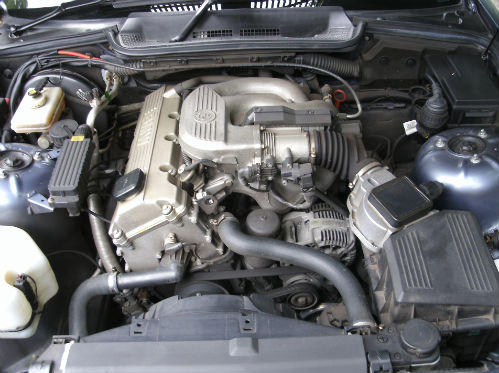 1999 bmw 318 1.8i convertible engine bay