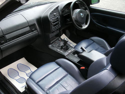 1999 bmw 318 1.8i convertible interior 1