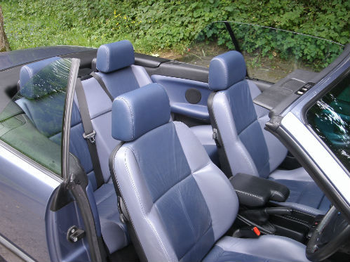 1999 bmw 318 1.8i convertible interior 2