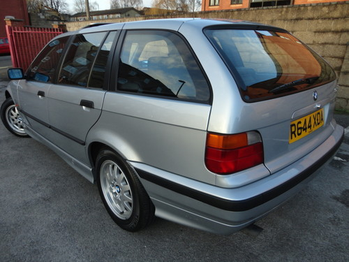 1997 bmw 3 series touring 323i 2.5 auto 5