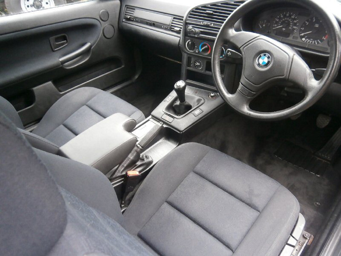 1996 BMW 323i Coupe Front Interior