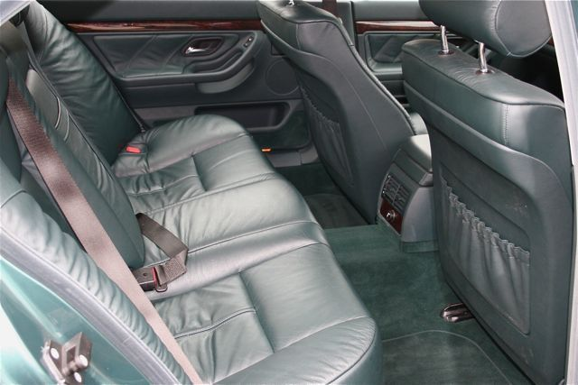1997 bmw 728i auto green interior 2