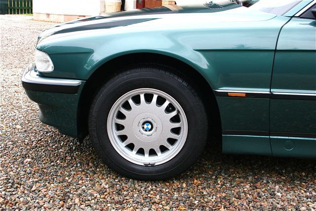 1997 bmw 728i auto green wheel