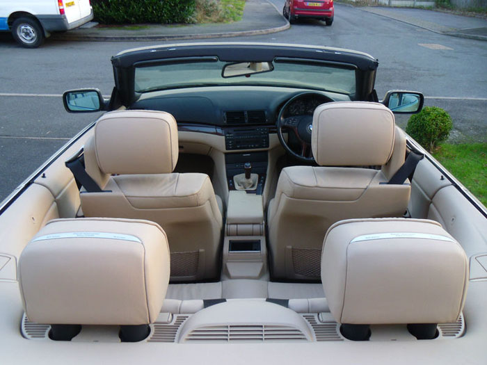2000 bmw 320ci 320 convertible interior 3