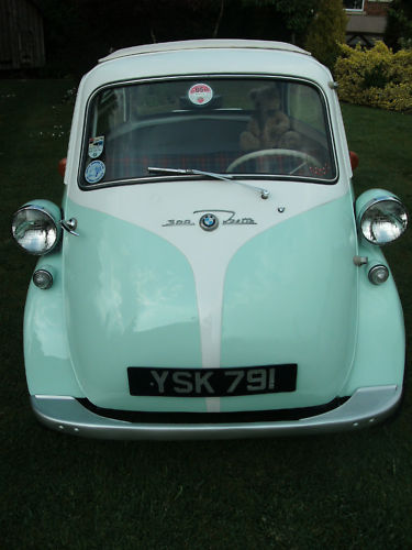 1962 bmw isetta 300 bubble car front