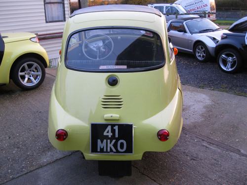 1960 BMW Isetta Bubble Car Back
