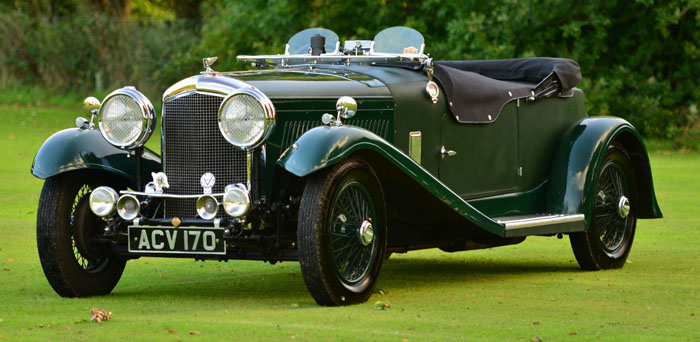 1934 Bentley 3.5 Litre Derby 1