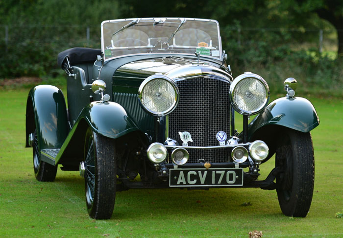 1934 Bentley 3.5 Litre Derby 2