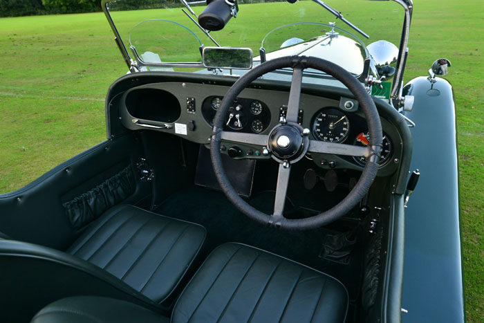 1934 Bentley 3.5 Litre Derby Dashboard Steering Wheel