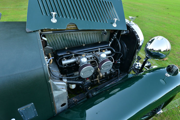1934 Bentley 3.5 Litre Derby Engine Bay