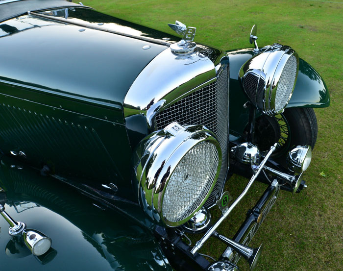 1934 Bentley 3.5 Litre Derby Front Closeup
