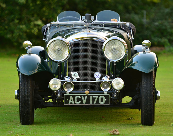 1934 Bentley 3.5 Litre Derby Front