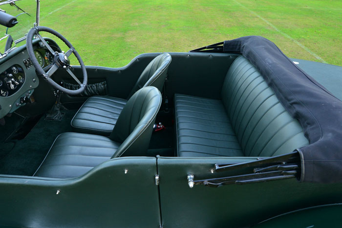 1934 Bentley 3.5 Litre Derby Interior 1