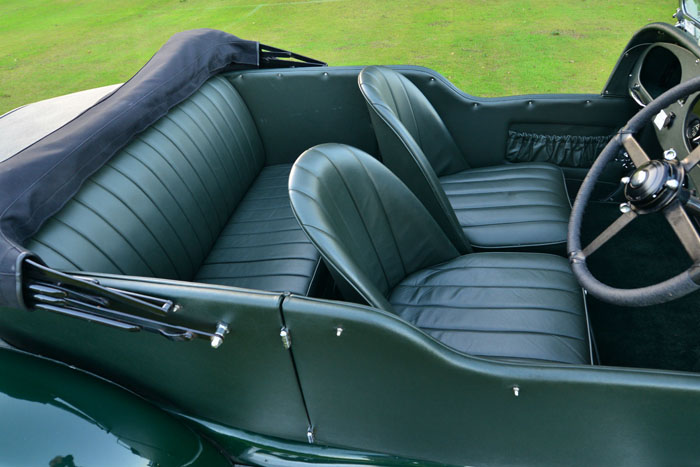 1934 Bentley 3.5 Litre Derby Interior 3