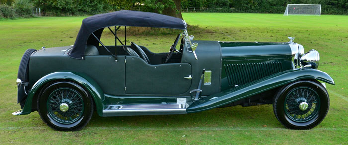 1934 Bentley 3.5 Litre Derby Side