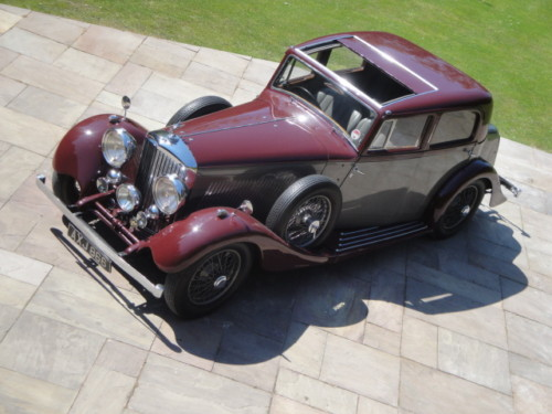1937 bentley 3.5 litre park ward derby saloon 1