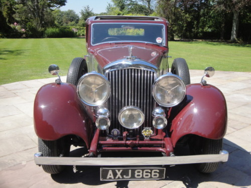 1937 bentley 3.5 litre park ward derby saloon 2