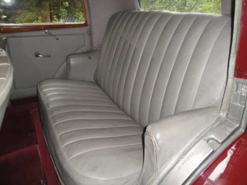 1937 bentley 3.5 litre park ward derby saloon interior 2