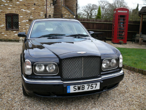 2001 bentley arnage 6.8 auto red label front