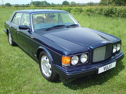 1996 bentley turbo r blue 3