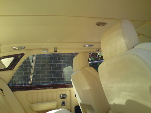 1996 bentley turbo r blue interior