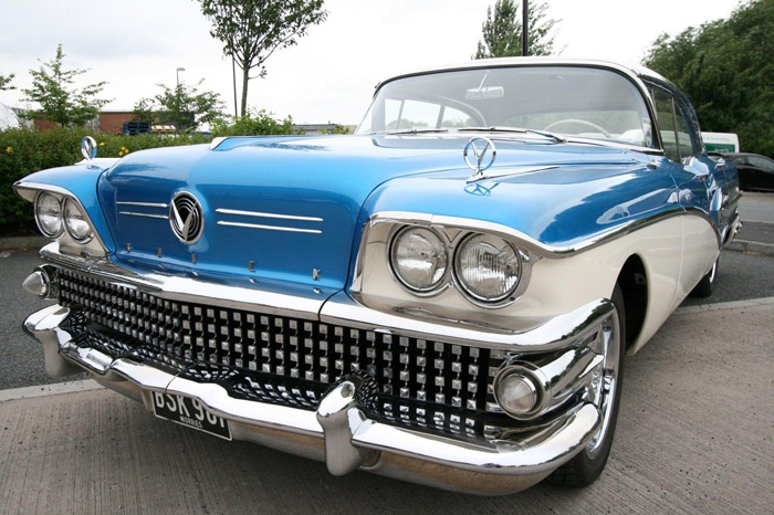 1958 Buick Century Front