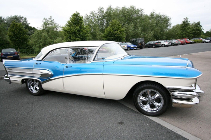 1958 Buick Century Right Side