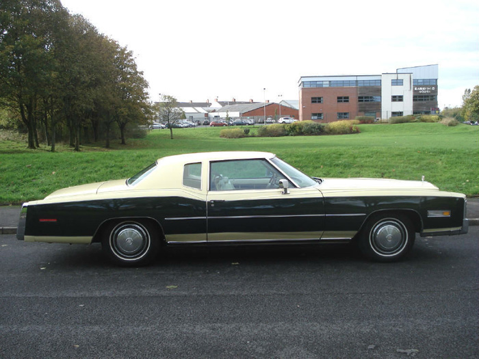 1977 Cadillac Fleetwood Eldorado 7.0 V8 Right Side